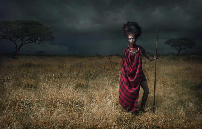Африканская культура в фото-портретах, сделанных Ли Хауэллом (Lee Howell).