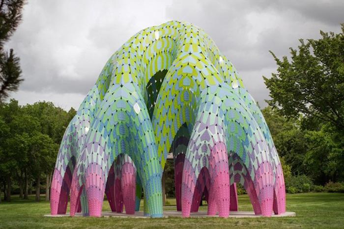 Уникальная арт-инсталляция от компании MARC FORNES / THEVERYMANY.
