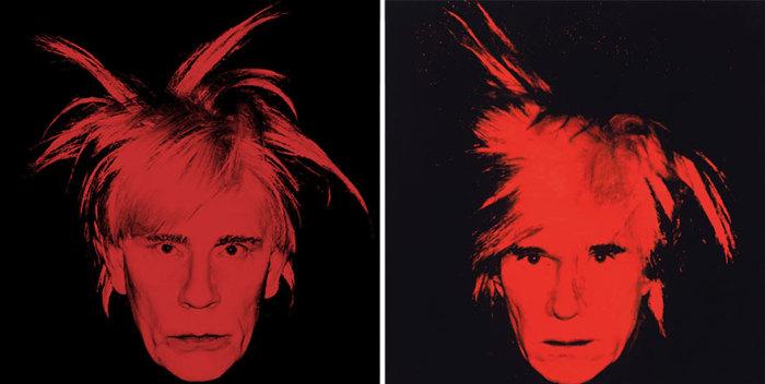 Сандро Миллер, Энди Уорхол / Автопортрет (парик Испуг) (1986 год), 2014 год.