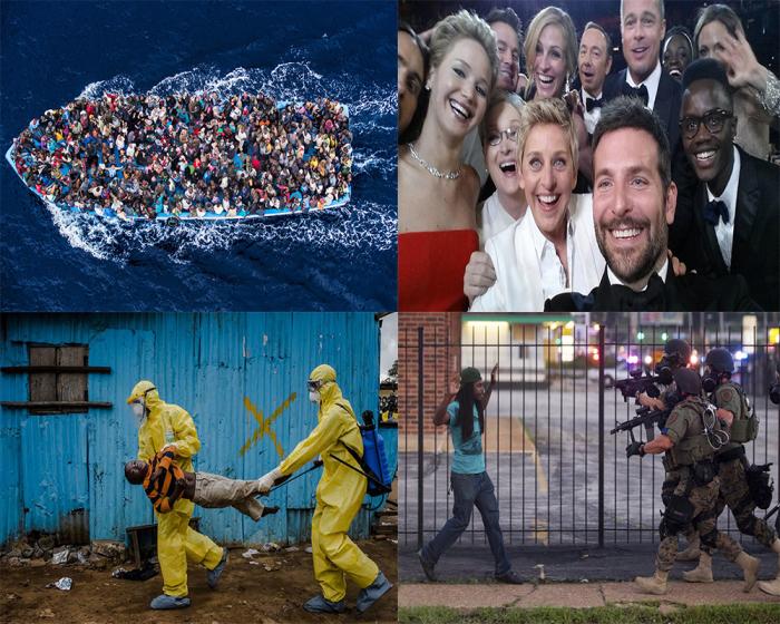 Топ-10 самых сильных и значимых фотографий уходящего года.