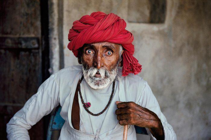 Местные жители в фото-проекте, посвященном Индии.