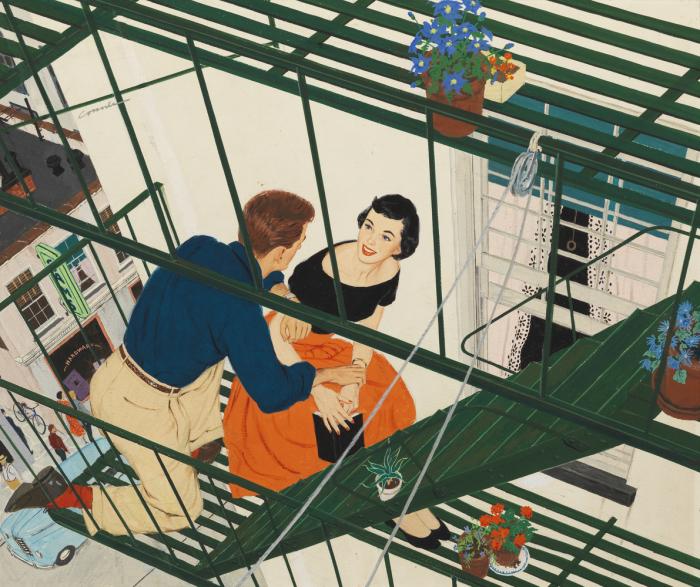 Иллюстрации культового художника Мак Коннера (Mac Conner).