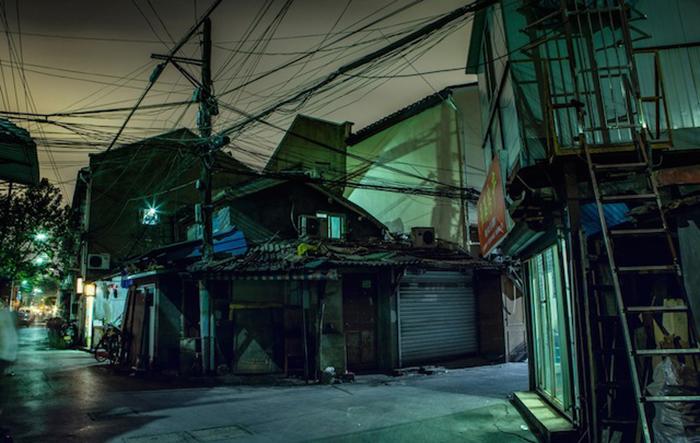 Откровенный взгляд на жизнь мегаполиса от Николаса Джандрейна (Nicolas Jandrain).