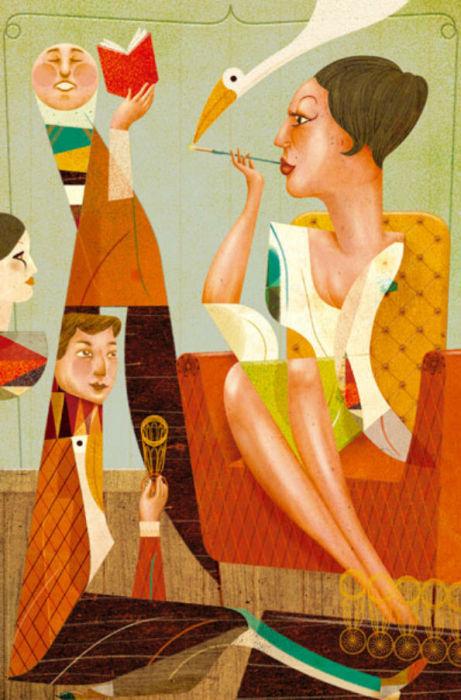 Забавные работы иллюстратора Гонсало Виана (Goncalo Viana).