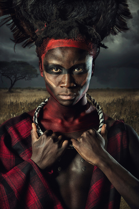 Потрясающие портреты жителей племени Масаи от Ли Хауэлла (Lee Howell).