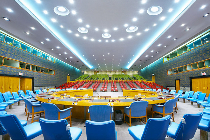Совет Безопасности ООН, Нью-Йорк.