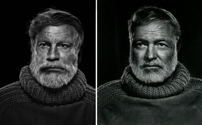 Сандро Миллер, Юсуф Карш / Эрнест Хемингуэй (1957 год), 2014 год.