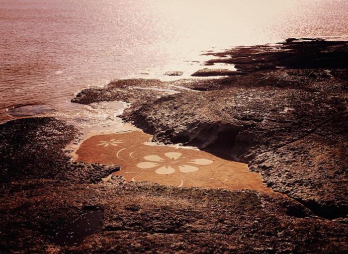 Потрясающие картины на песке от Бенджамина Джахана (Benjamin Jehan).