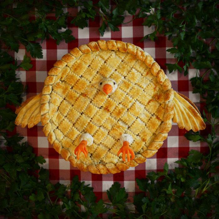 Оригинальный пирог от Кристин Макконнелл (Christine McConnell).