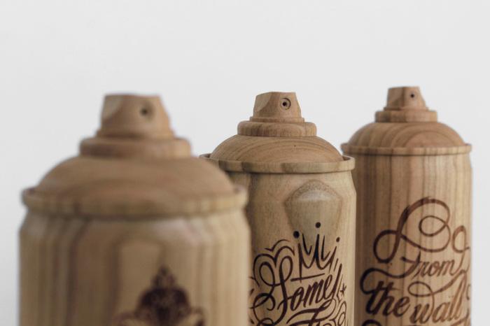 Коллекция деревянных баллонов от Тибо Малет (Thibaut Malet) и Zics.