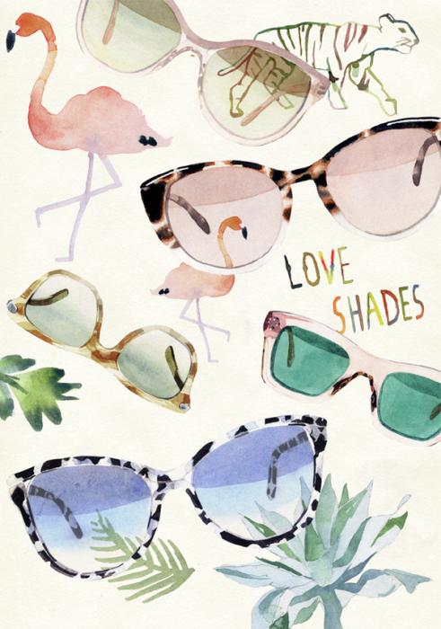Картина Love Shades от Марселя Джорджа (Marcel George).