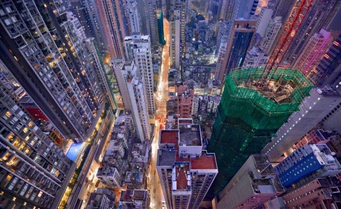 Потрясающие фотоснимки Гонконга от Romain Jacquet-Lagreze.