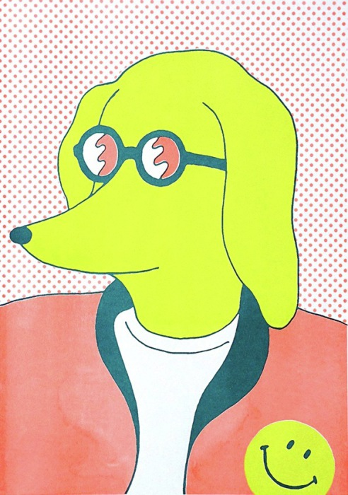 Карикатурные зарисовки Хисаси Окава (Hisashi Okawa).