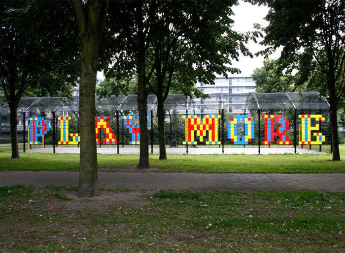 Уличная инсталляция от  Анны Гарфорт (Anna Garforth).
