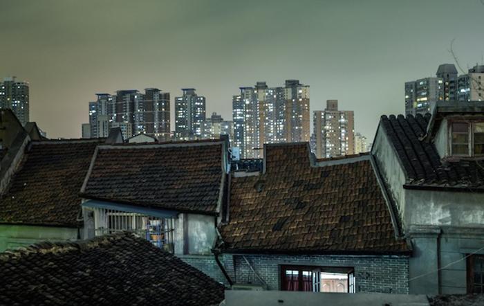 Шанхайская ночь - противоречивый фото-проект от Николаса Джандрейна (Nicolas Jandrain).