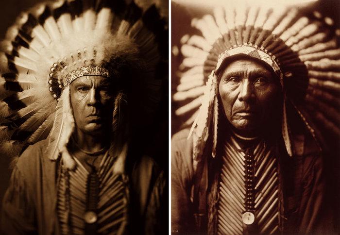 Сандро Миллер, Эдвард Шериф Кертис / Три лошади (1905 год), 2014 год.