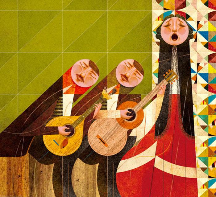 Веселые картинки от художника Гонсало Виана (Goncalo Viana).