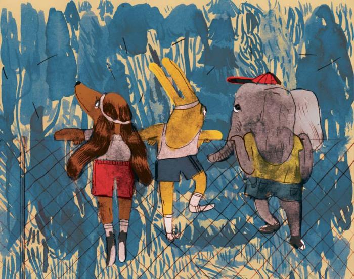 Забавные иллюстрации из детской книжки Mari Kanstad Johnsen.