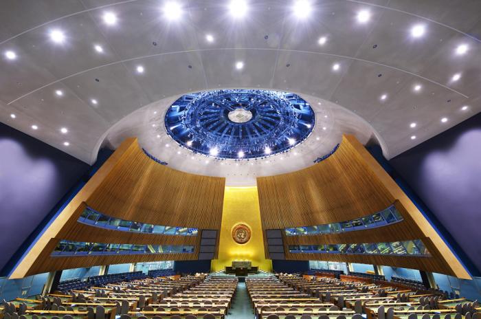 Генеральная Ассамблея ООН, Нью-Йорк.