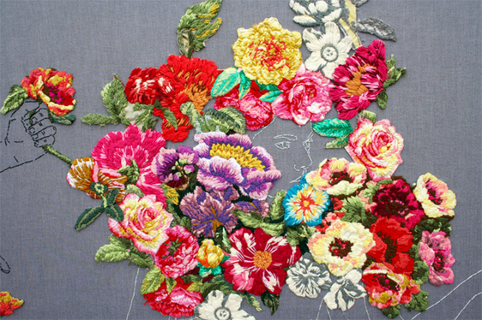 Невероятно красивые цветы в работах Анны Тереза Барбоса (Ana Teresa Barboza).