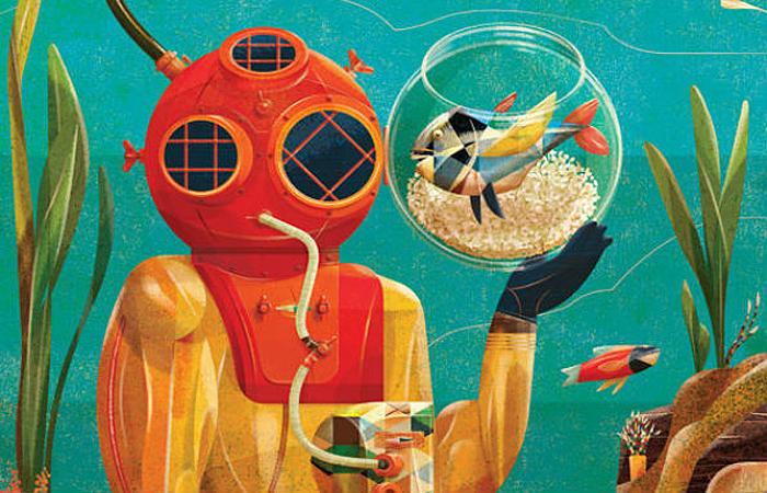 Забавные иллюстрации от Гонсало Виана (Goncalo Viana).