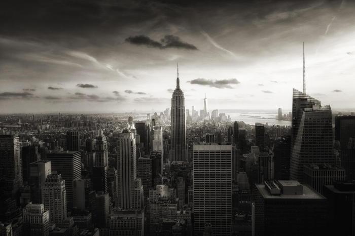 Черно-белые снимки Нью-Йорка от женевского фотографа.