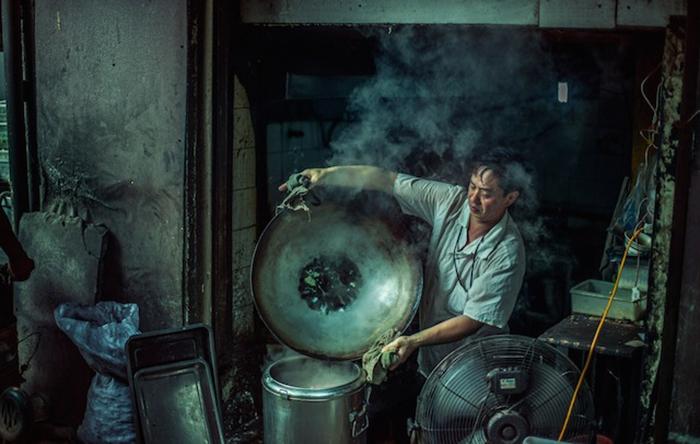 Ночная жизнь Шанхая в фото-проекте Николаса Джандрейна (Nicolas Jandrain).