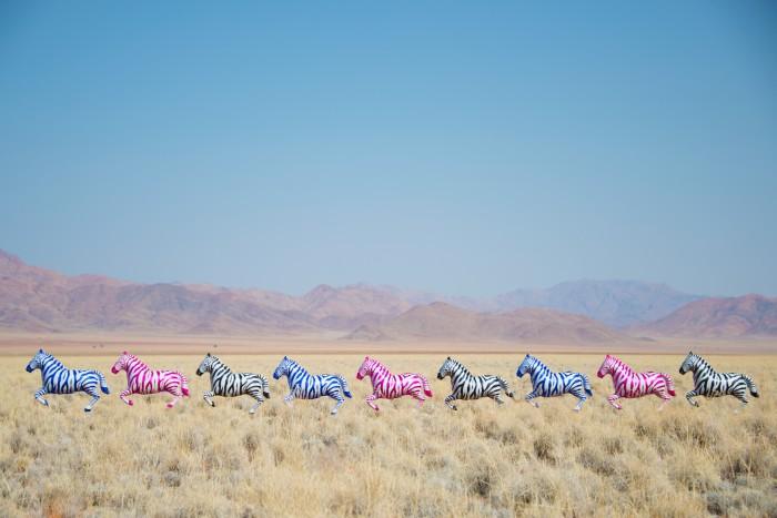 Яркие фотоснимки воздушных шаров от Gray Malin.