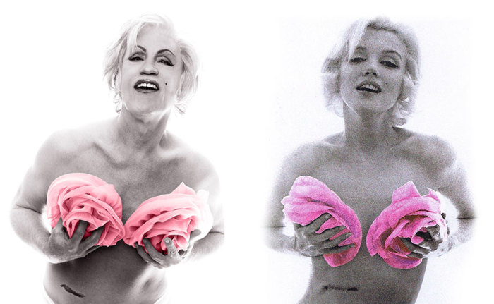 Сандро Миллер, Берт Стерн / Мэрилин в розовых розах (1962 год), 2014 год.