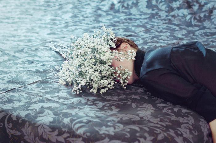 Воспоминания о сновидения в работах испанского фотографа.