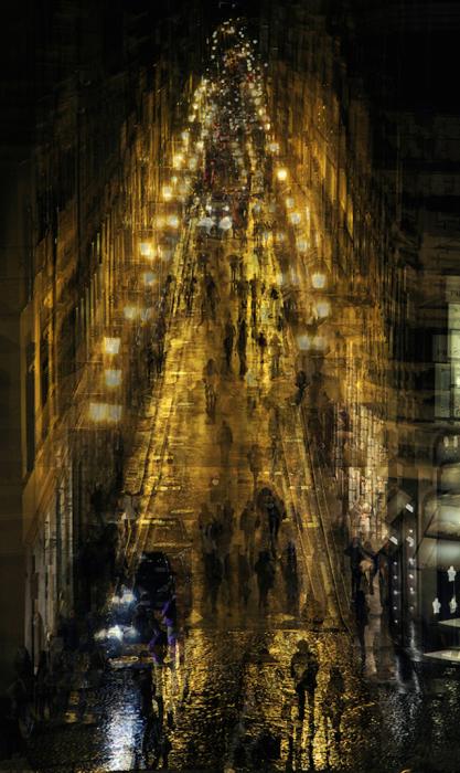 Потрясающие снимки городских пейзажей от Alessio Trerotoli.