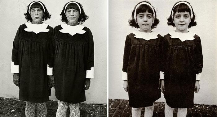Сандро Миллер, Диана Арбус / Близнецы, Нью-Джерси (1967 год), 2014 год.