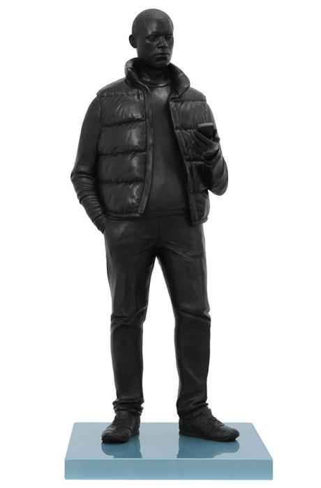 Скульптура жителя Южного Лондона от Тома Прайса (Tom Price).