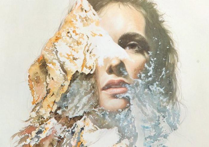 Чувственные женские портреты от Oriol Angrill Jorda.