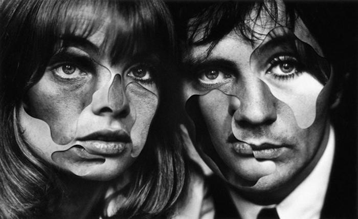 Психоделические работы от французского художника.