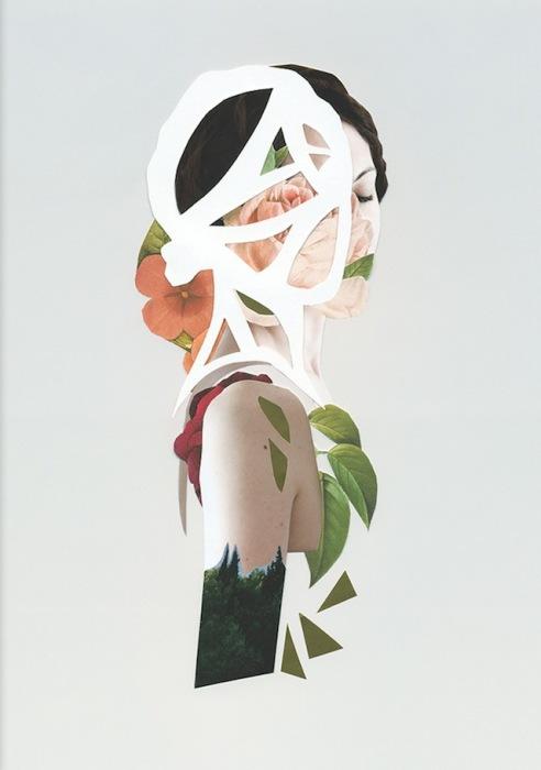 Необычные портреты от Росио Монтойи (Rocio Montoya).