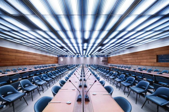 Зал заседаний XXIV, ООН, Женева.