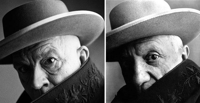 Сандро Миллер, Ирвинг Пенн / Пабло Пикассо, Канны, Франция (1957 год), 2014 год.