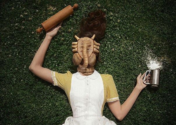 Устрашающая выпечка от молодой художницы и фотографа Кристин Макконнелл (Christine McConnell).