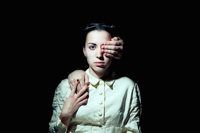 Сюрреалистические женские образы в работах Andrea Torres Balaguer.