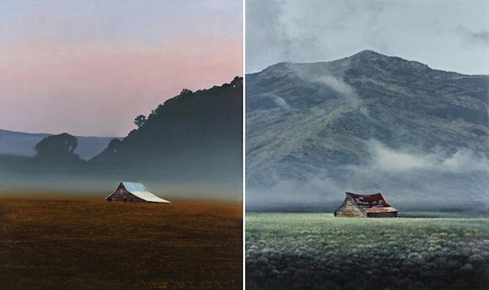 Потрясающие пейзажи в реалистичных картинах Майкла Грегори (Michael Gregory).