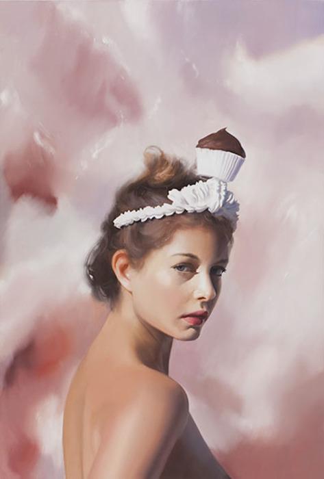 Сладкий мир в картинах Уилла Коттона (Will Cotton).