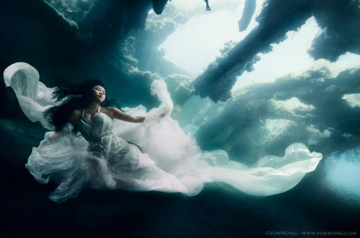 Великолепный результат подводной фотосессии.