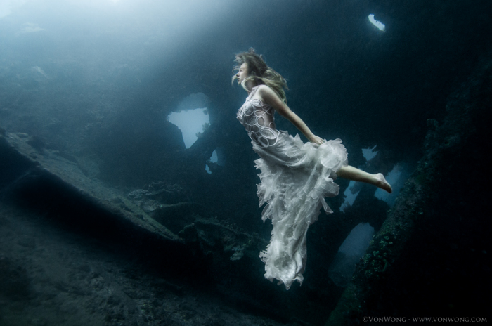 Фотосессия под водой от Benjamin Von Wong.