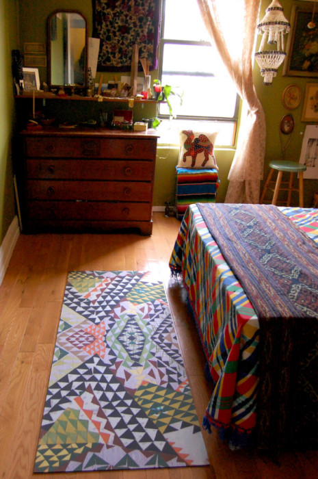 Яркий коврик из коллекции Grounded.