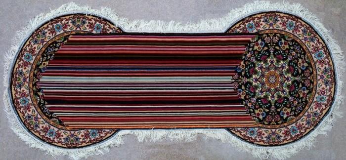Необычный половик от Фаига Ахмед (Faig Ahmed).