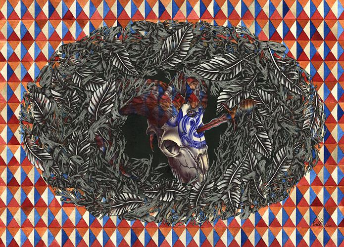 Иллюстрация под названием Goat Nest.