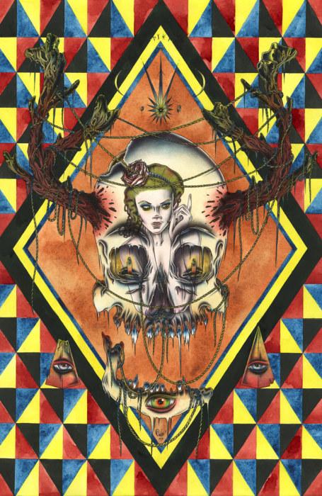 Иллюстрация от французского художника под названием Sould of God.