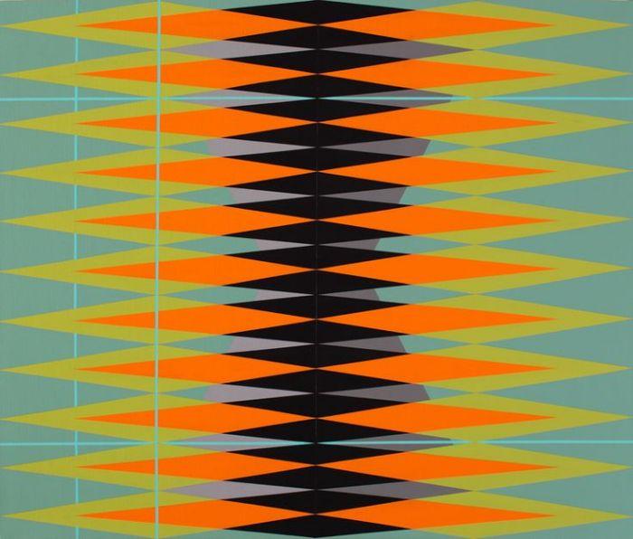 Геометрические узоры в иллюстрациях Пабло Грисса (Pablo Griss).