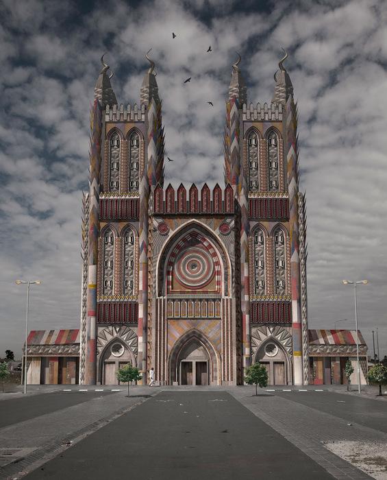 Невероятная архитектура в работах Джастина Планкета (Justin Plunkett).